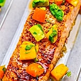 Chili Lime Salmon With Mango Avocado Salsa