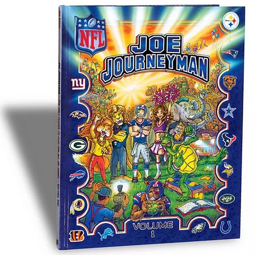 Joe Journeyman NFL Search-and-Find Book