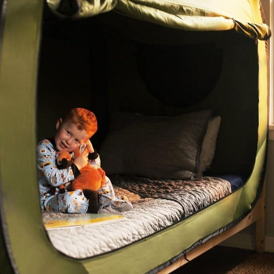Privacy Pop Bed Tent Helps Kids Sleep