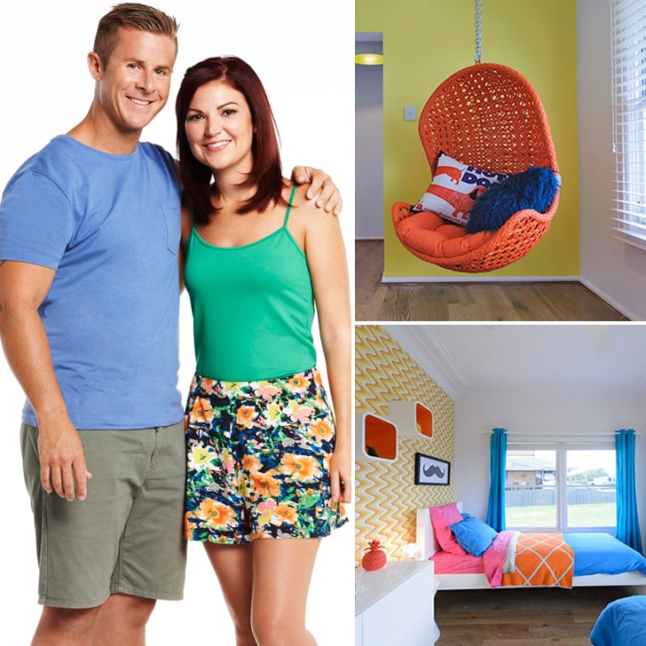 Home Makeover Tv Show: House Rules 2014 Candy And Ryan Elimination Room Makeovers