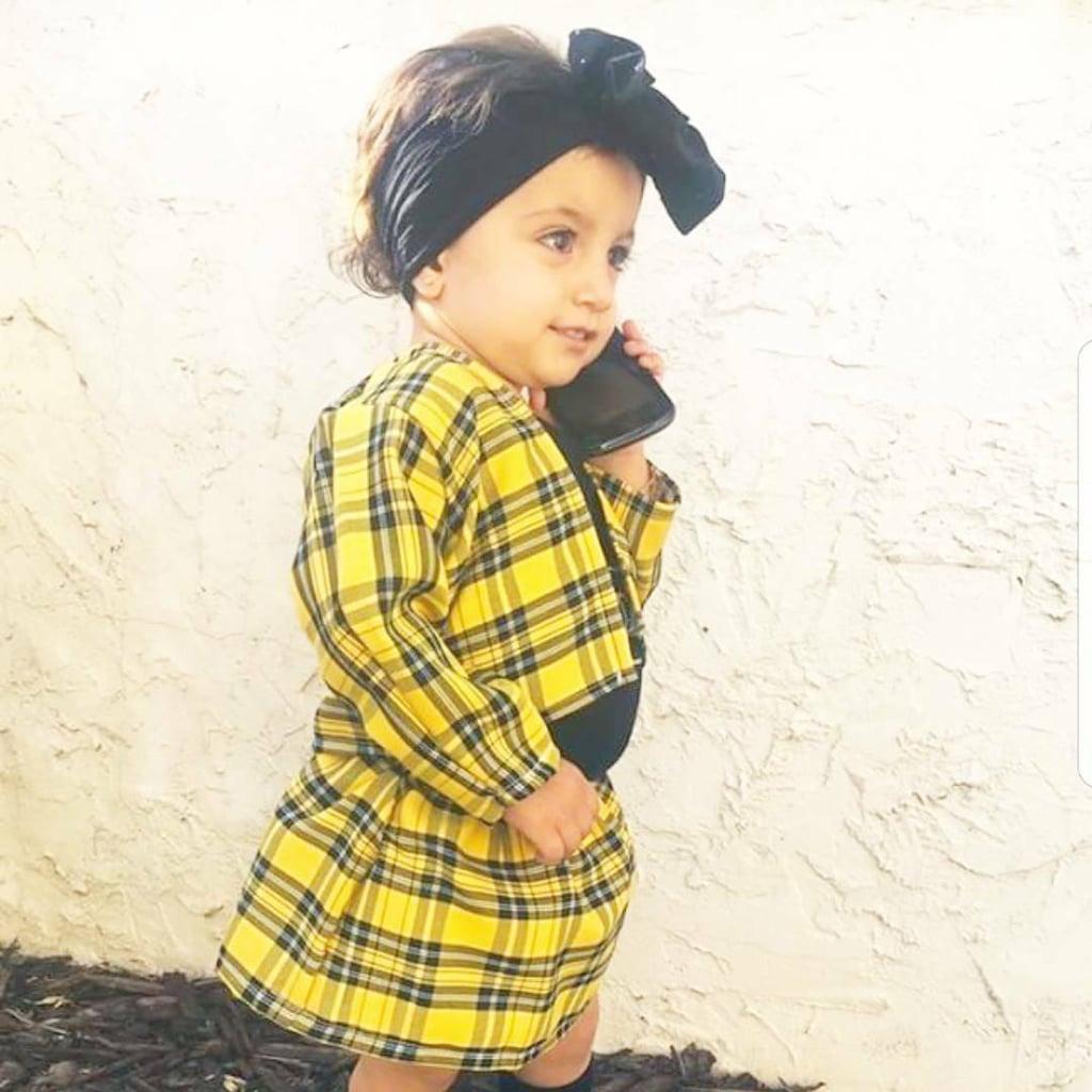 Cher (Clueless)  sc 1 st  Popsugar & Cher (Clueless) | Toddler Halloween Costumes | POPSUGAR Moms Photo 5