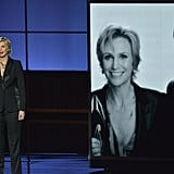 Jane Lynch at the 2013 Emmy Awards