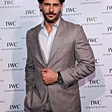 Joe Manganiello suited up.