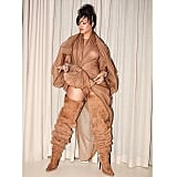 Rihanna Wearing an Organza Y/Project Dress and Y/Project x UGG Boots