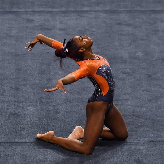 Gymnast Derrian Gobourne's Beyoncé Floor Routine | Video
