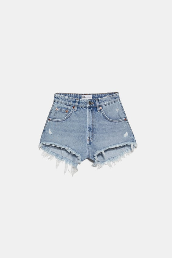 Zara Hi-Rise Hot Pants