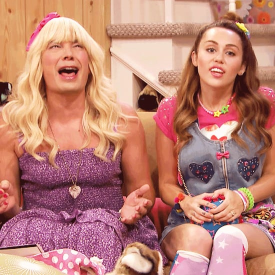 """Miley Cyrus and Jimmy Fallon's """"Ew!"""" Skit 2016 
