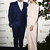 Sam Claflin and Laura Haddock Hit the Red Carpet Together 2 Months After Becoming Parents
