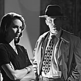 Toby gets into full detective garb with Spencer. Source: ABC Family