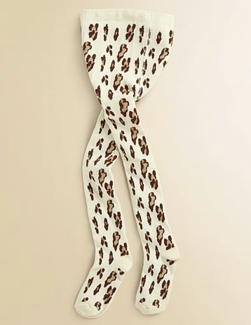 Girls' Printed Tights