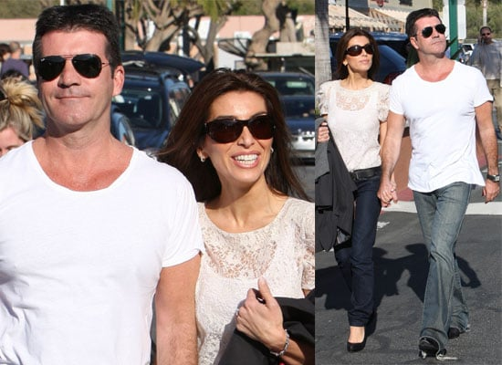 Photos of Engaged Couple Simon Cowell and Mezhgan Hussainy Out in the Malibu Sunshine Together