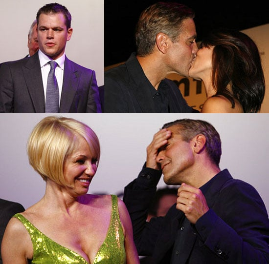 A Very (Very) Lucky Lady Wins A Clooney Kiss