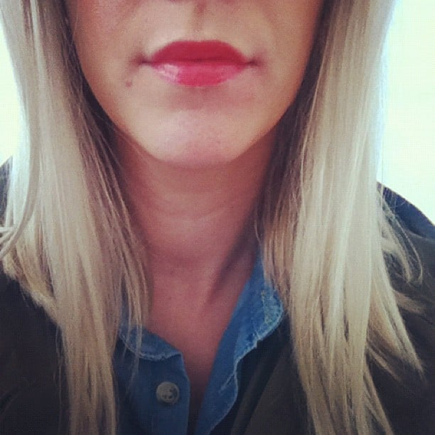 Alison took Sisley's new Phyoto-Lip Gloss in Rouge for a test run. The verdict? Really easy to wear with a slightly minty taste. The range is out Oct 7.