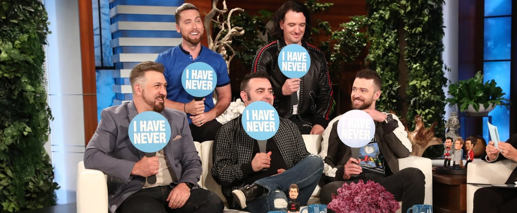 "NSYNC Plays ""Never Have I Ever"" on The Ellen Show"