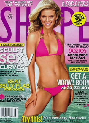 AnnaLynne McCord looks like she's ready to hit the beach in Shape's March issue. In the magazine, the 22-year-old 90210 starlet shares with readers her ...
