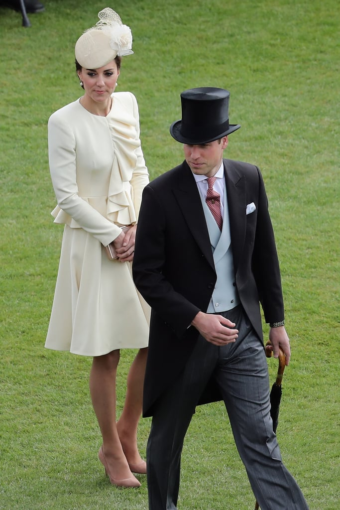 Kate Middleton and Prince William at Garden Party May 2016