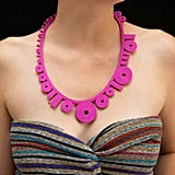 Pink Binary Necklace ($38)