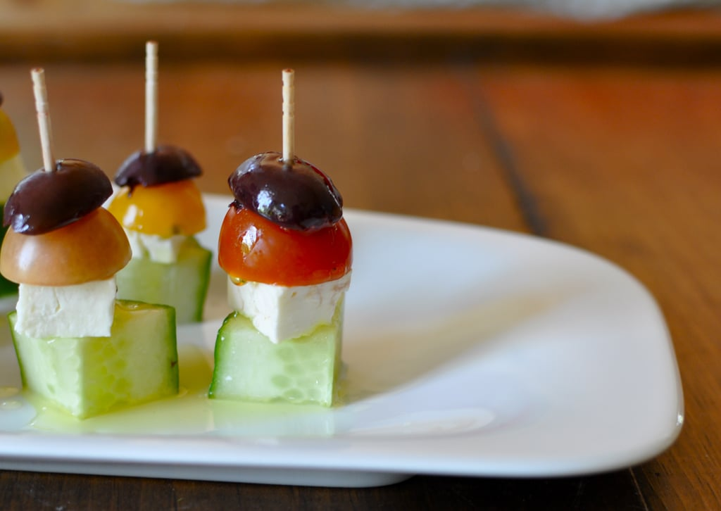 Easy greek salad appetizer recipe popsugar food share this link forumfinder Choice Image