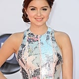 Ariel Winter wore a Katherine Kidd gown with a gorgeous up-do.