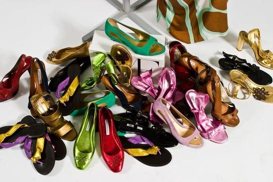 The Shoe Blog Photoshoot With Diane Von Furstenberg