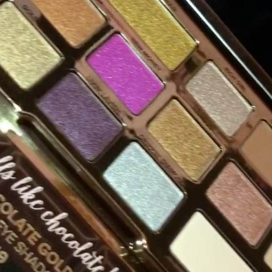 Too Chocolate Gold Metallic Matte Palette