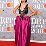 Dua Lipa at the 2019 Brit Awards