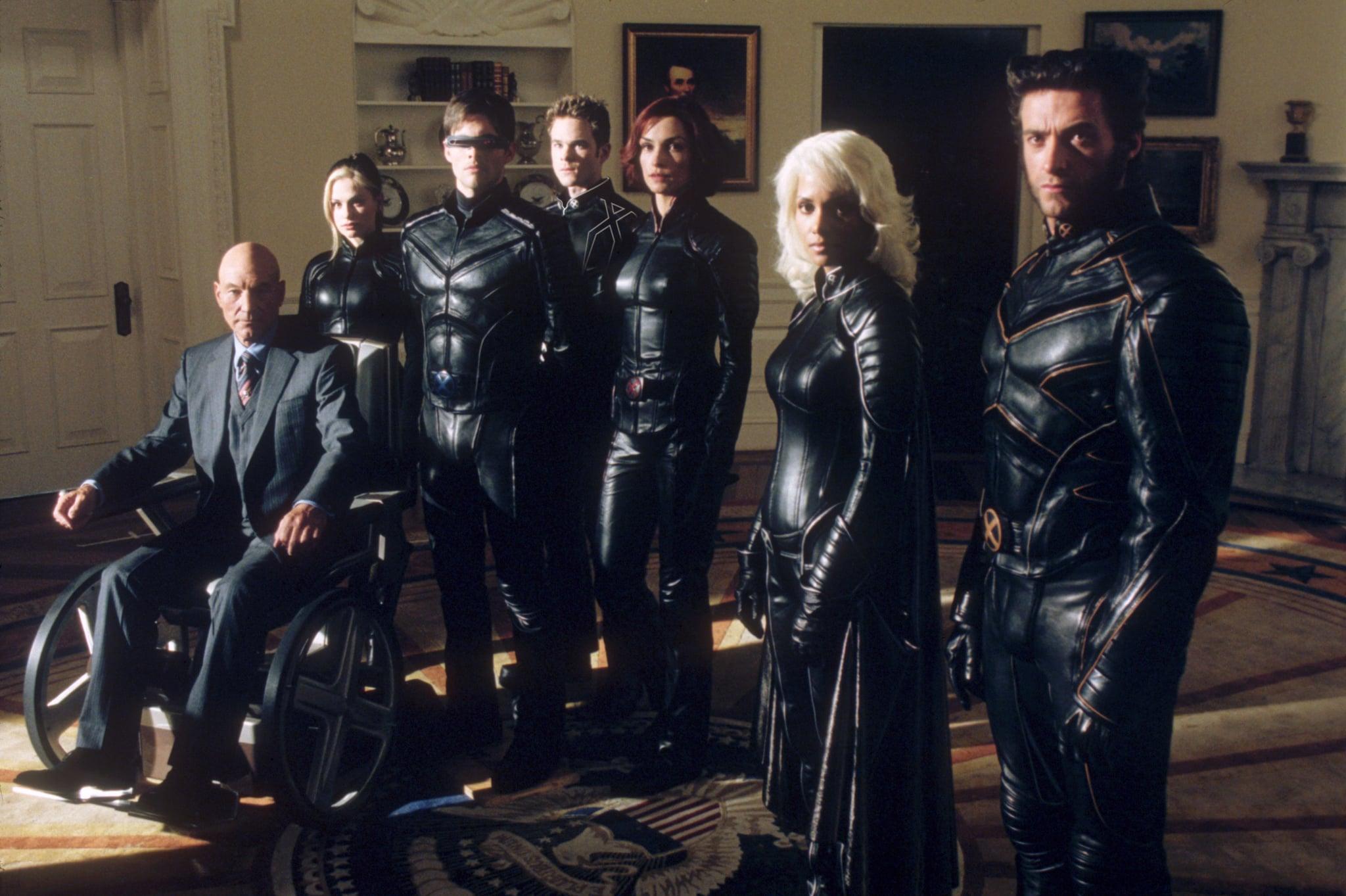 X-MEN 2, Patrick Stewart, Anna Paquin, James Marsden, Shawn Ashmore, Famke Janssen, Halle Berry, Hugh Jackman, 2003, TM & Copyright (c) 20th Century Fox Film Corp. All rights reserved.