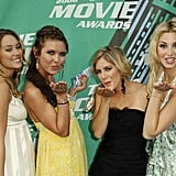 Lauren Conrad, Audrina Patridge, Heidi Montag, and Whitney Port walked the red carpet together in 2006.