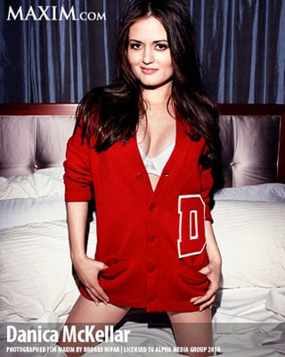 Danica McKellar Talks About What's Sexy in Maxim Interview