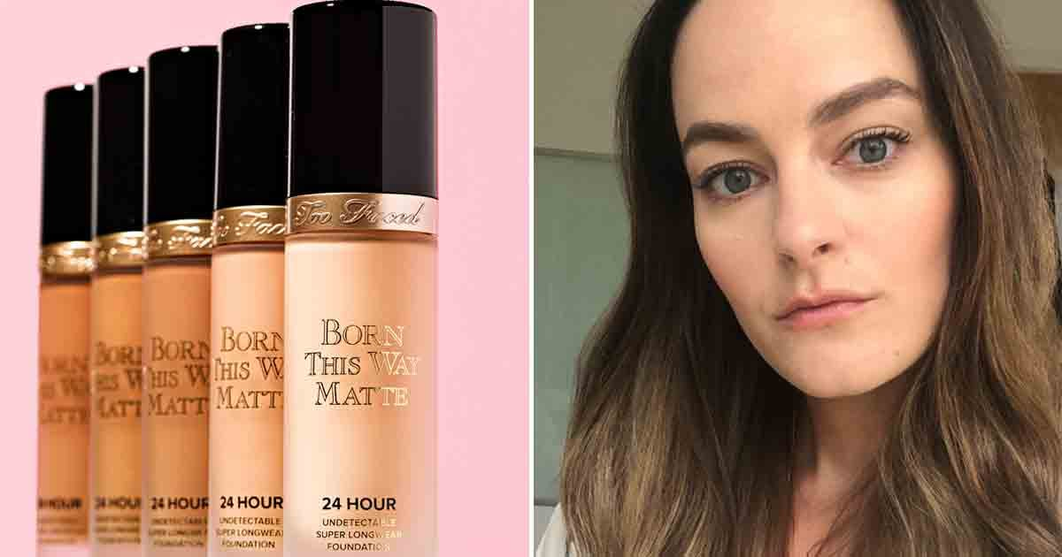 Too Faced Launches Born This Way Matte Foundation Review Popsugar Beauty Uk