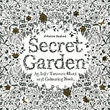 Secret Garden: An Inky Treasure Hunt and Colouring Book, $14.61