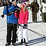 Heidi and Spencer Hit the Slopes