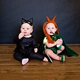 Catwoman and Poison Ivy