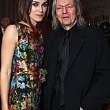 Keira Knightley wore a colorful frock to a Sony Pictures cocktail party