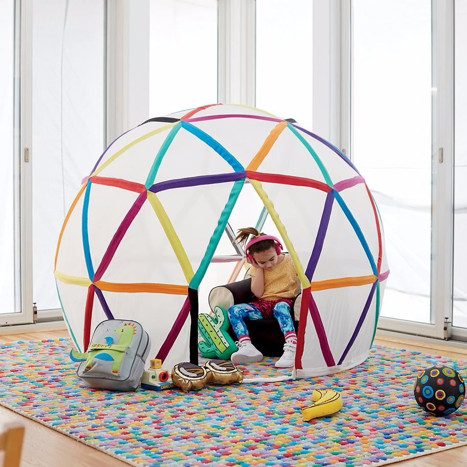 Rainbow room decor for kids popsugar moms for Rainbow kids room