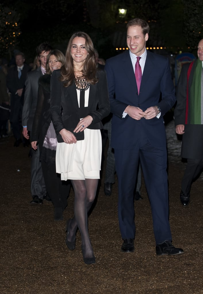 Kate's First Official Engagement
