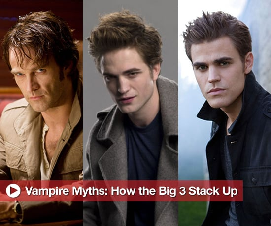 """true blood vs twilight People say the """"the vampire thing"""" is played out, and maybe they're right, but that  doesn't stop true blood and the vampire diaries fans from."""