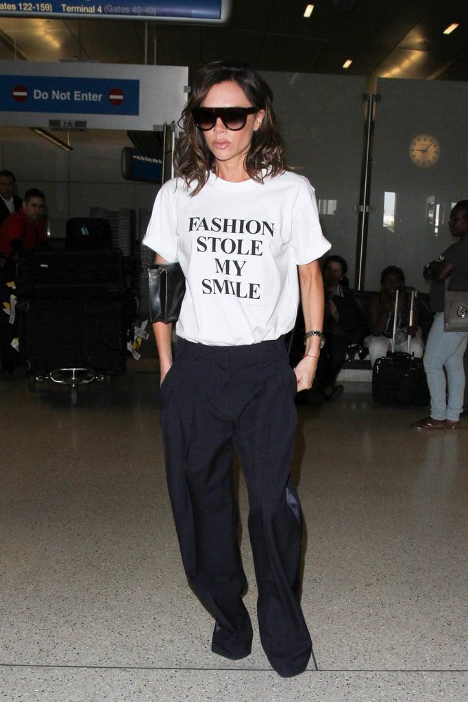Victoria Beckham's Hilarious T-Shirt Tells Her Life Story