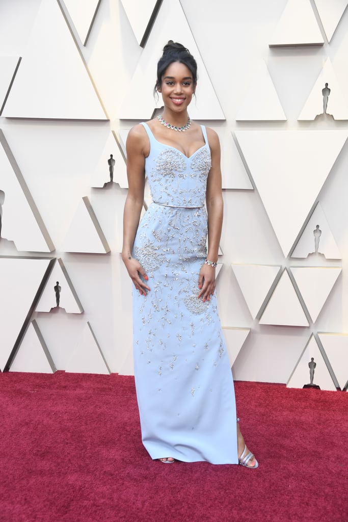 Laura Harrier at the 2019 Oscars