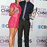 That time when Chris Colfer and Lea Michele both snatched up awards at the 2013 show.