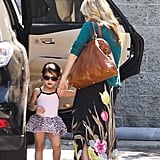 Sarah Michelle Gellar took Charlotte Prinze to ballet class.