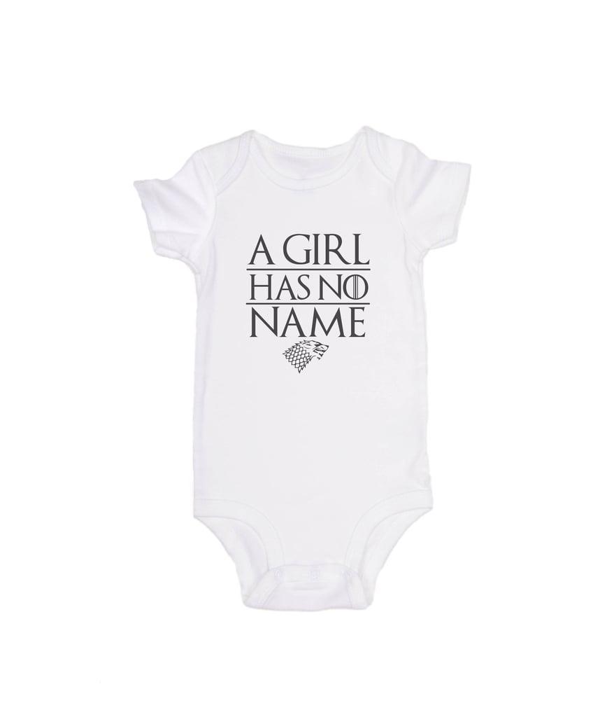 A Girl Has No Name Onesie