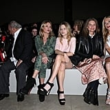 Kate and Lottie attended the Topshop Unique show at London Fashion Week in 2014.