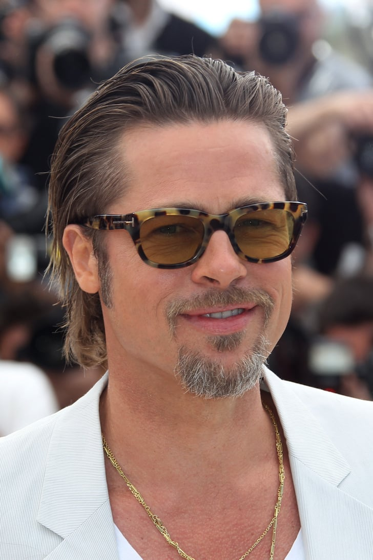 May 2011 The Gelled Hair Don T Care Brad Pitt Best Hair