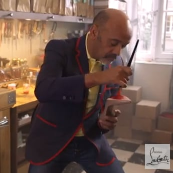 Christian Louboutin Saks Boutique in NYC | Video