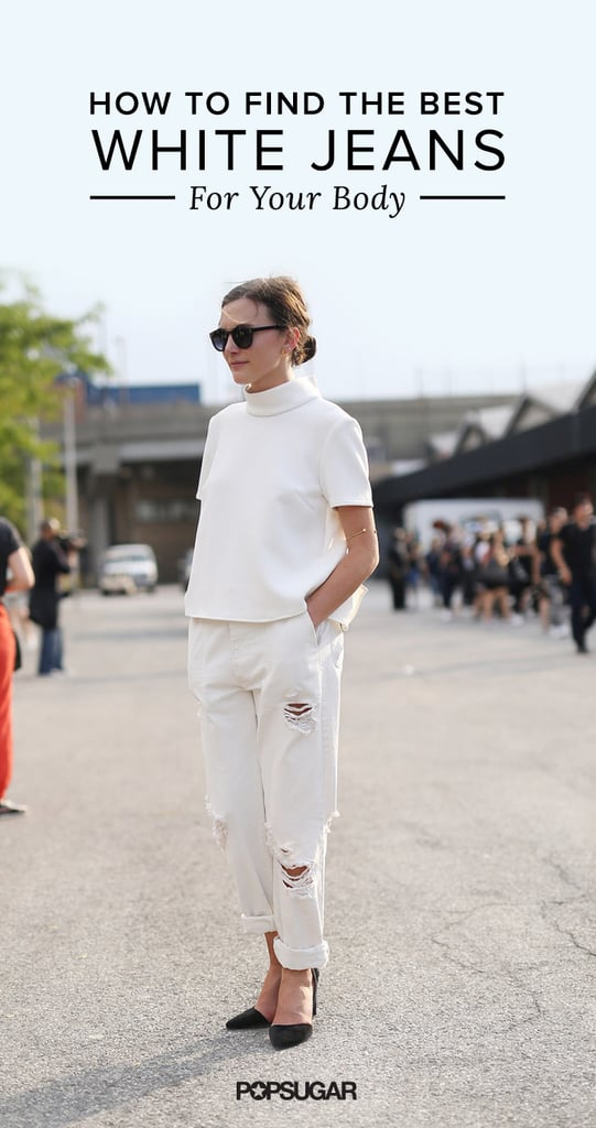 How to Find the Best White Jeans For Your Body