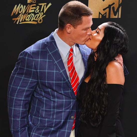 John Cena and Nikki Bella at 2017 MTV Movie and TV Awards