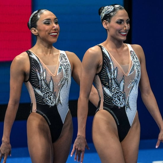 Mexico's Olympic Swimmers Paid Tribute to Avatar