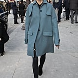 A Coat and Tights