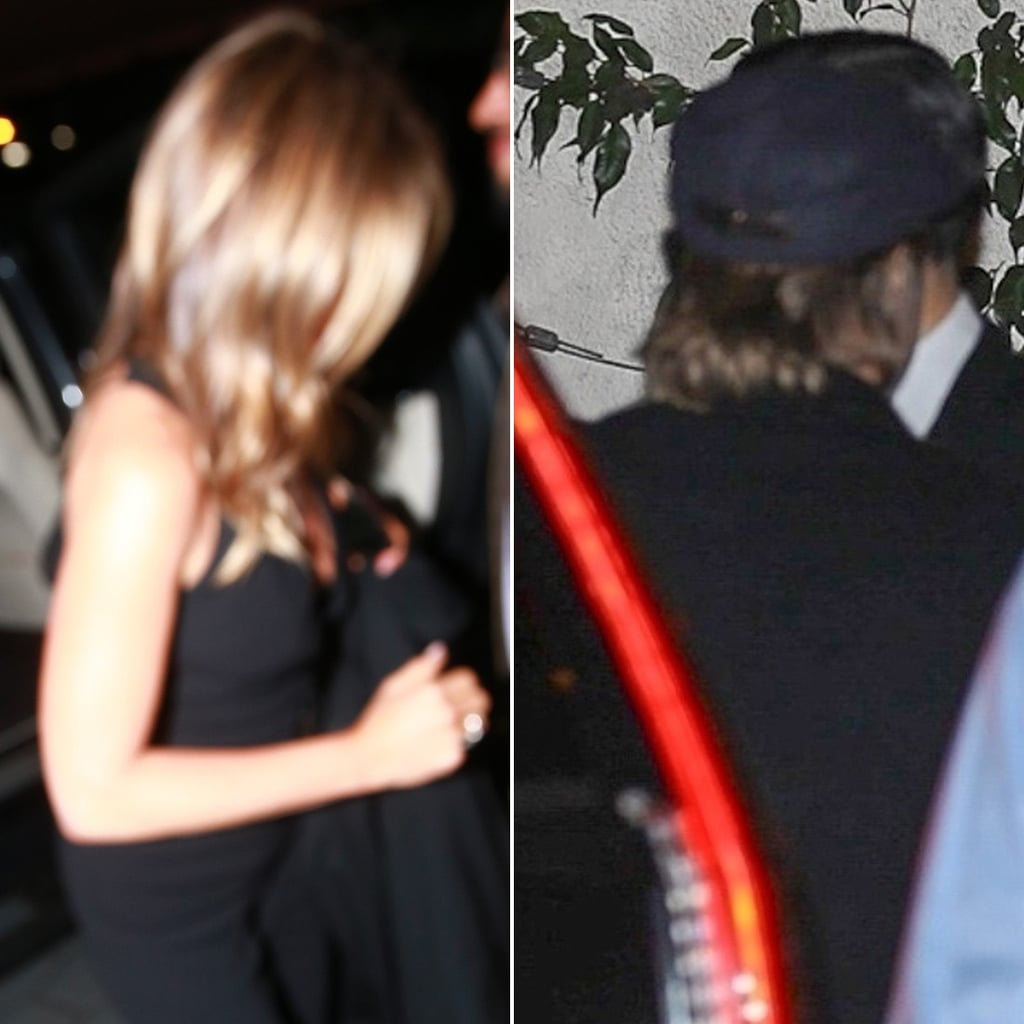 Brad Pitt at Jennifer Aniston's 50th Birthday Party Pictures
